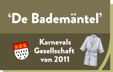 De Bademäntel Karnevalsgesellschaft Logo